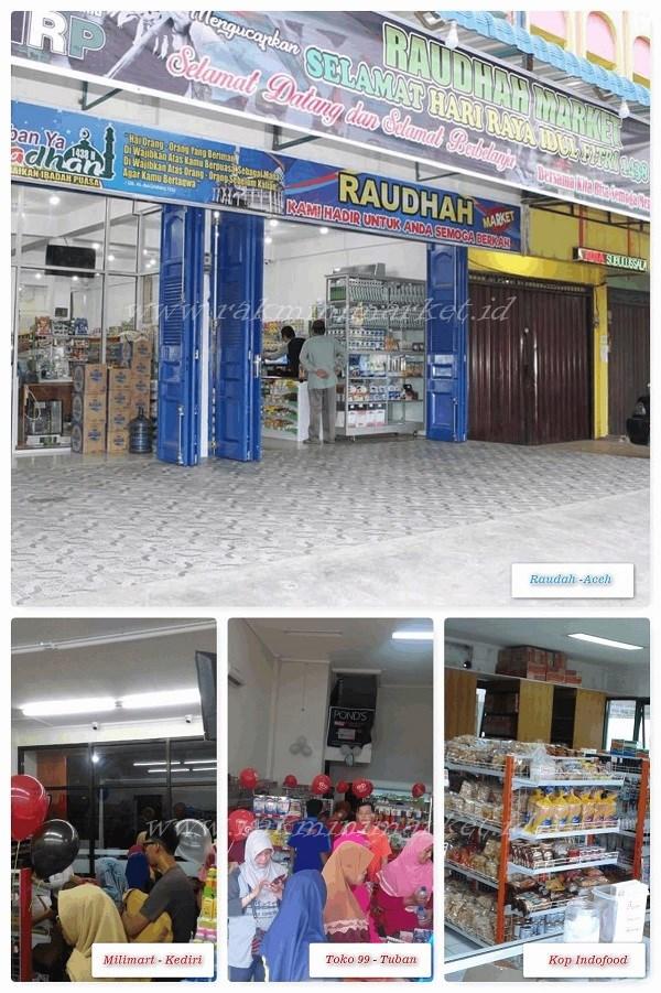 Contoh Proyek Rak Minimarket Kami